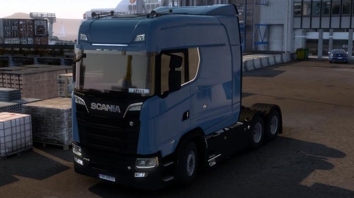 ETS2 - Add-on Next Generation Scania S LongLine V1.1 (1.41.x)