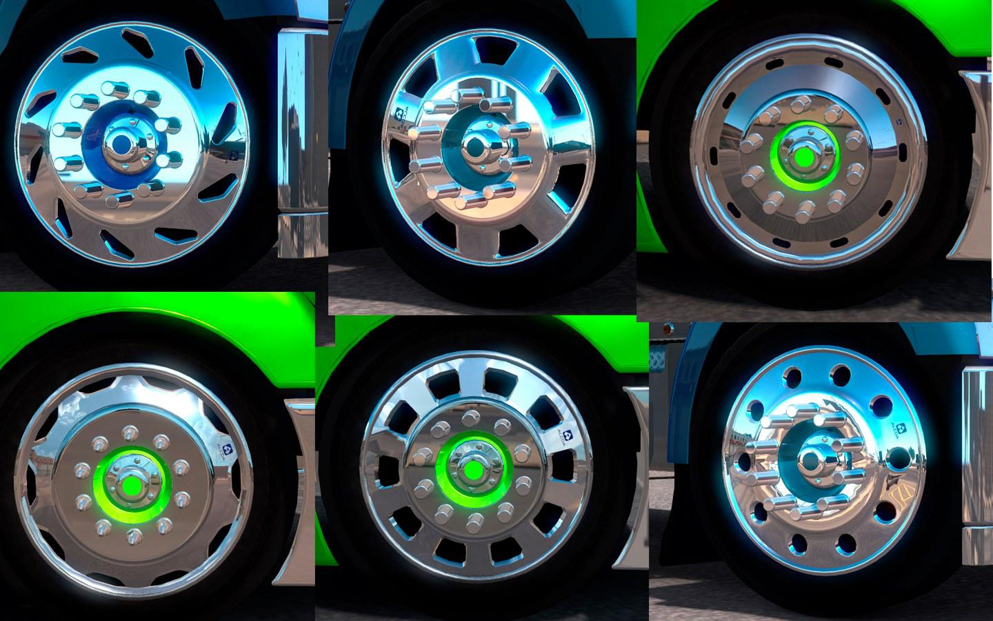 ATS - Alcoa Huge Rim Pack V2.0 (1.35.X)