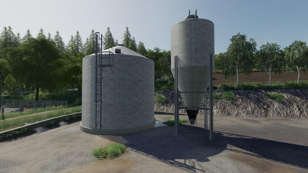 FS19 - Grain Silo Set With Multifruit V1.0