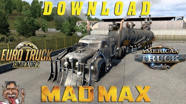 ETS2 - Montro 111S Madmax Truck + Madmax Trailer (1.40.x)
