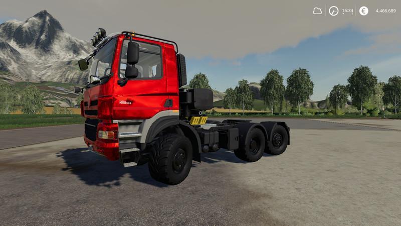 FS19 - Tatra Phoenix 6x6 Nerd MP Truck V1.0