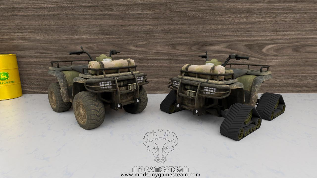 FS19 - Lizard Quad Bike V1.2