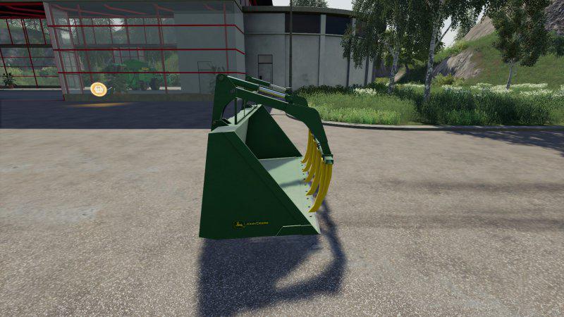 FS19 - John Deere Grapple Bucket V1.0