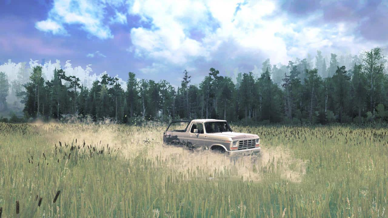 Spintires:Mudrunner - 1978 Silver Mud Bronco (BBCustoms)