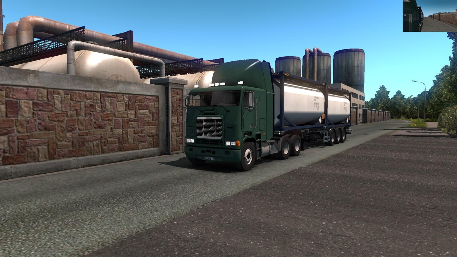 ETS2 - Freightliner FLB Truck (1.36.X)