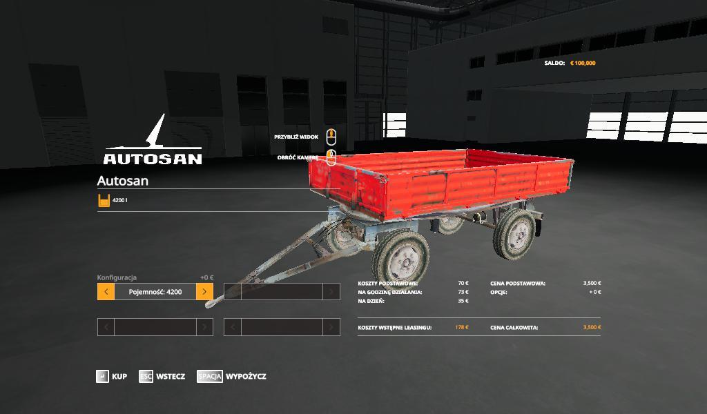 FS19 - Autosan D50 Trailer V1.0