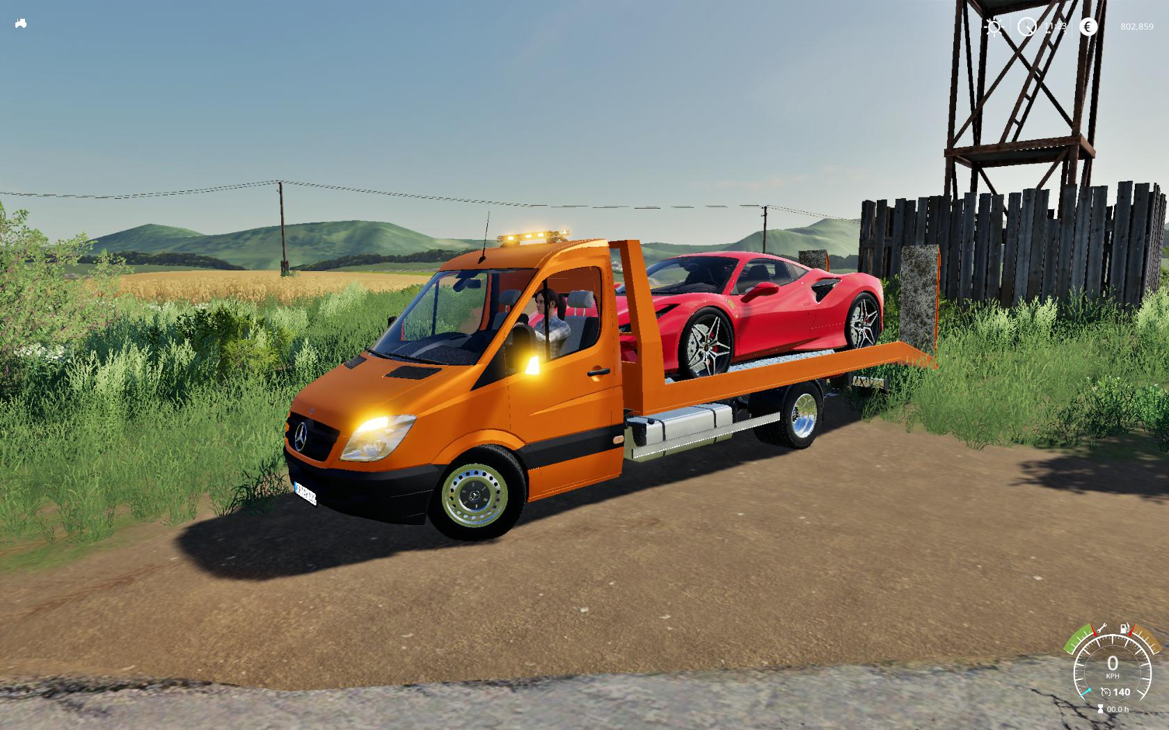 FS19 - Mercedes Sprinter Transporter V1.0