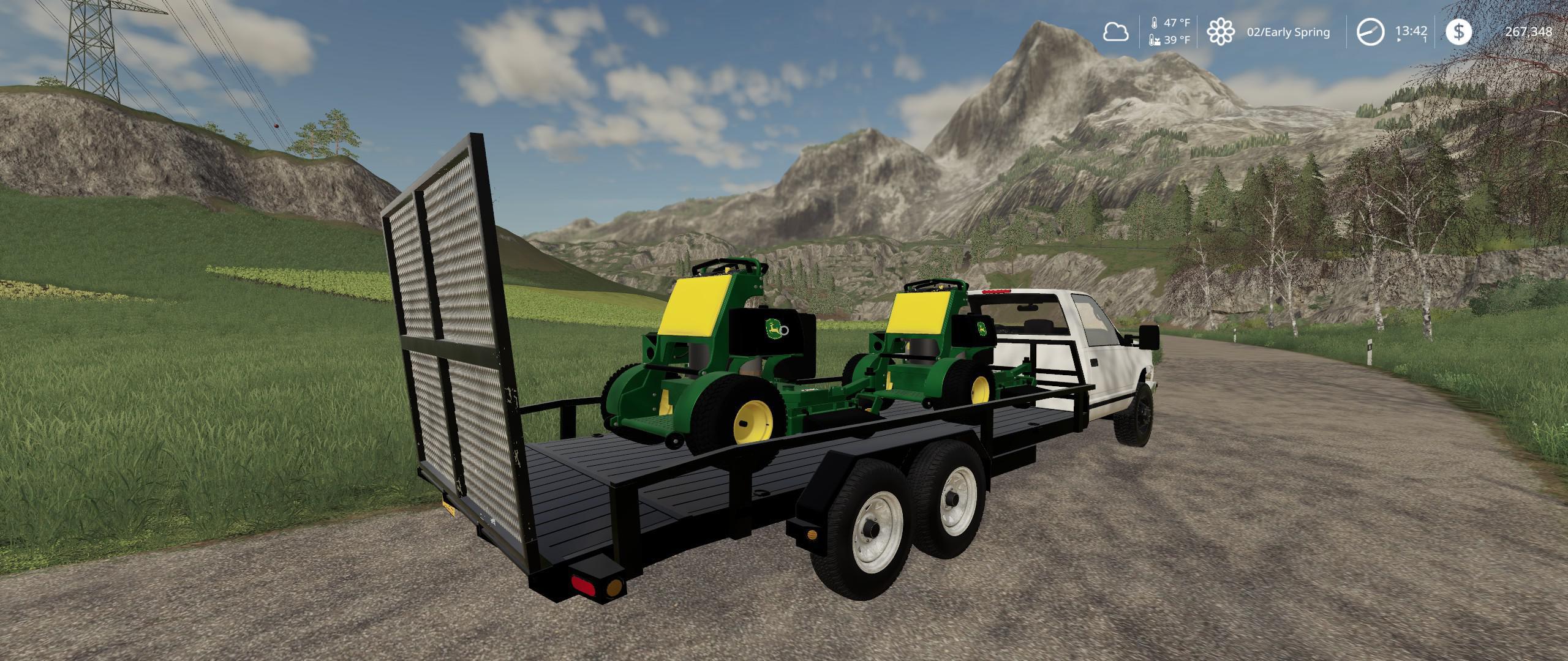 FS19 - Silverado Landscape Truck v1.0 (1.35.X)