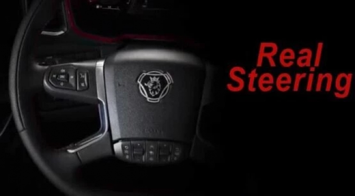 ETS2 - Real Steering V1.0 (1.40.x)