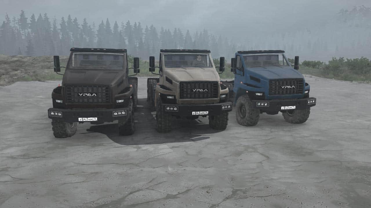 Spintires:Mudrunner - Ural Next Pack V02.01.20