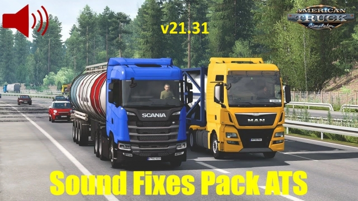 ATS - Sound Fixes Pack V21.31 (1.40.x)