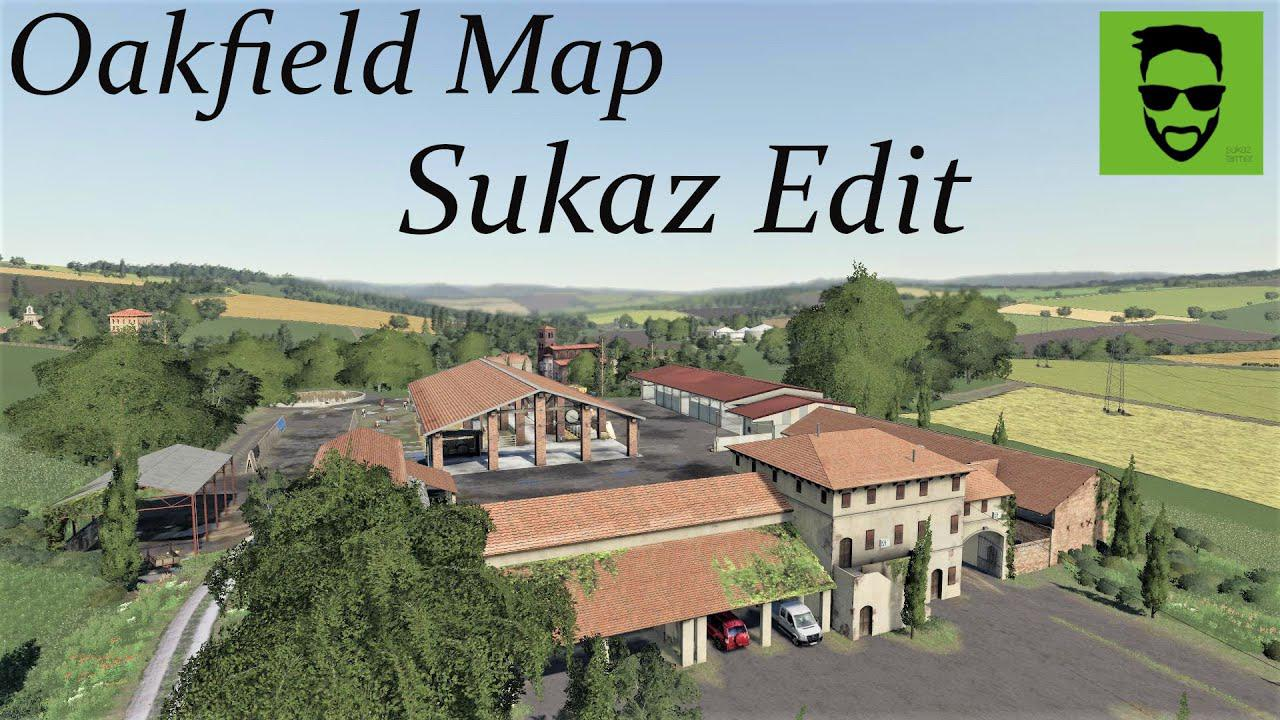 FS19 - Oakfield Farm Sukaz Edit Amarcord V1.0