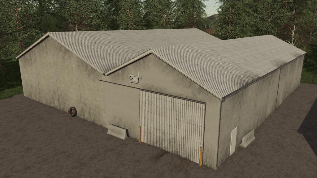 FS19 - Grain Storages Pack V1.1