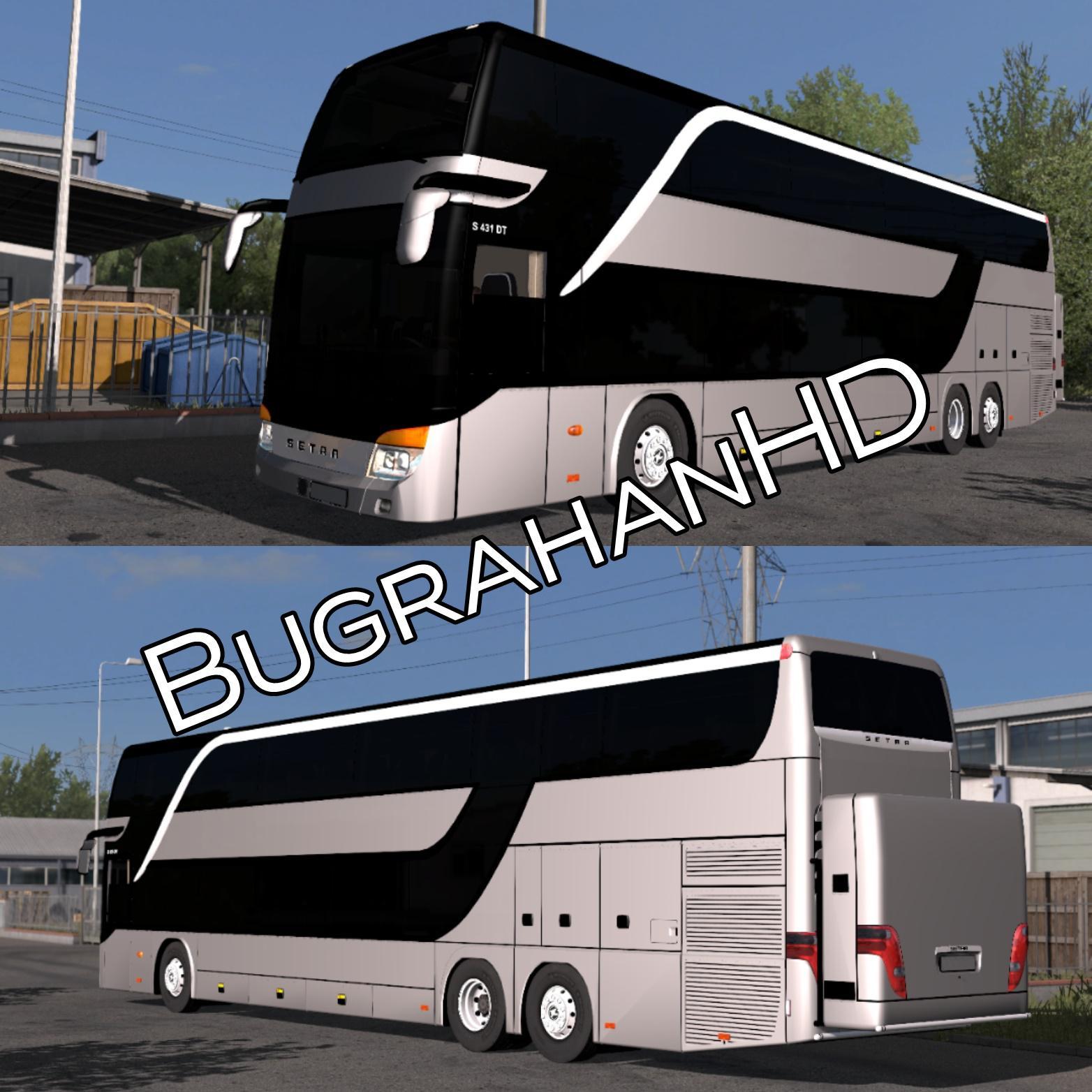 ETS2 - Setra 431 DT Bus V5 (1.36.x)