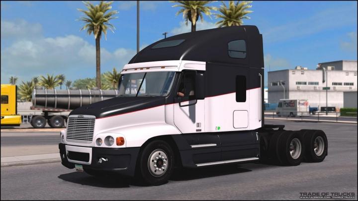 ETS2 - Freightliner Century & Columbia С 120 Truck (1.41.x)