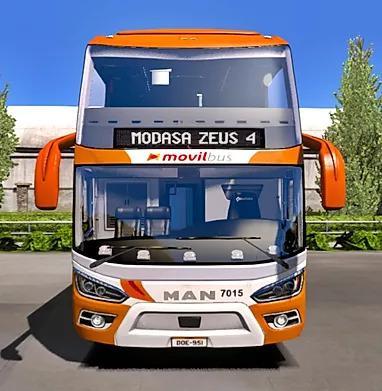 ETS2 - Modasa Zeus 4 6x2/8x2 Man Bus (1.36.x)