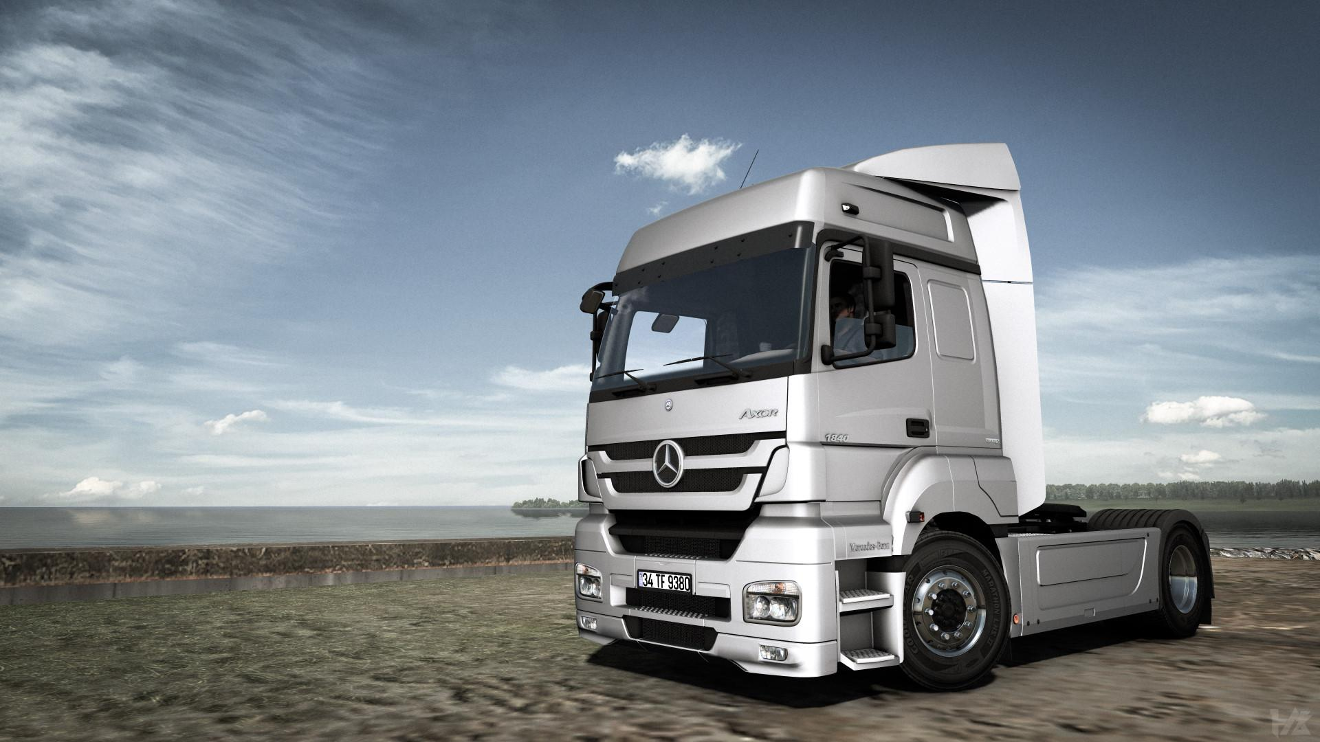 ETS2 - Mercedes Axor 1840 Mp3 Reworked (1.37.x)