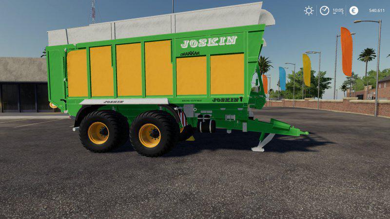 FS19 - Joskin Drakkar 6600 Trailer V1