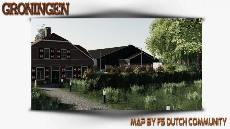 FS19 - Groningen Map V1.0.2