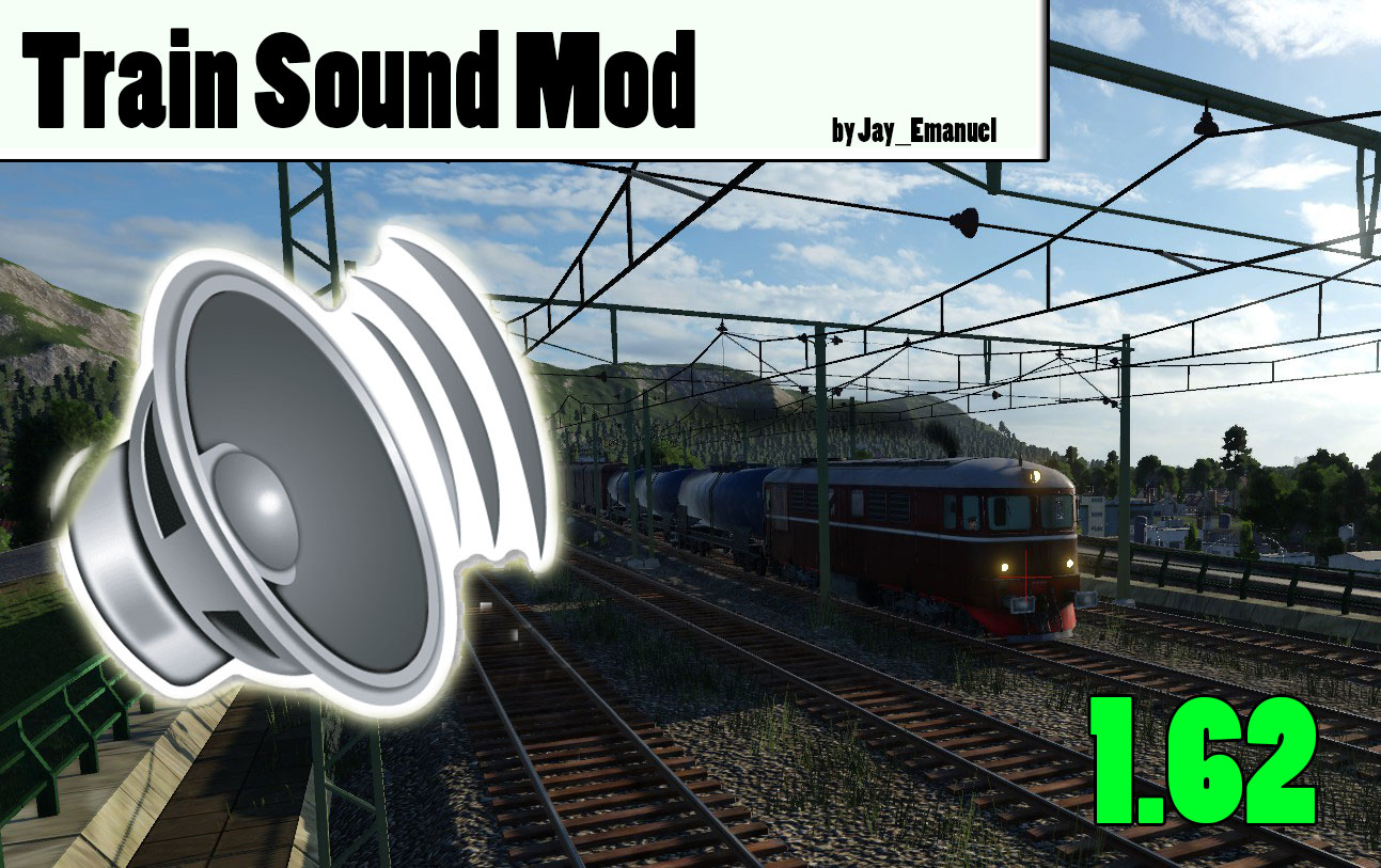 Transport Fever 2 - Train Sound Mod 1.6 Vanilla