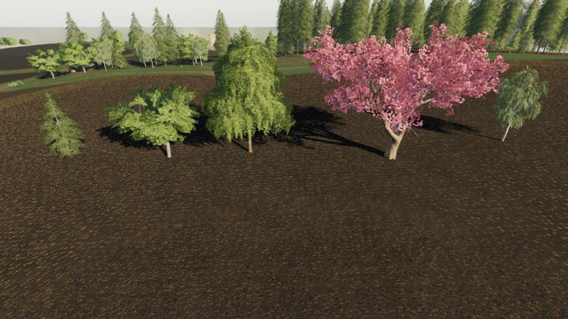 FS19 - Placeable More Trees V1.0.1.0