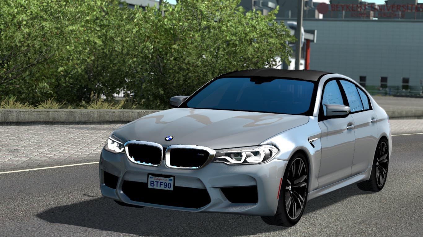 ETS2 - BMW M5 F90 V1R40 (1.38.x)