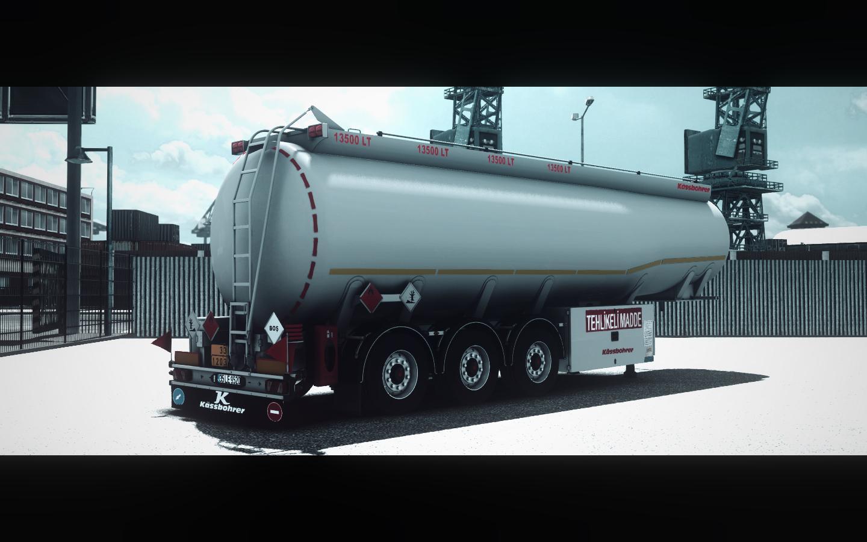 ETS2 - Kassbohrer Tanker Trailer (1.35.X)