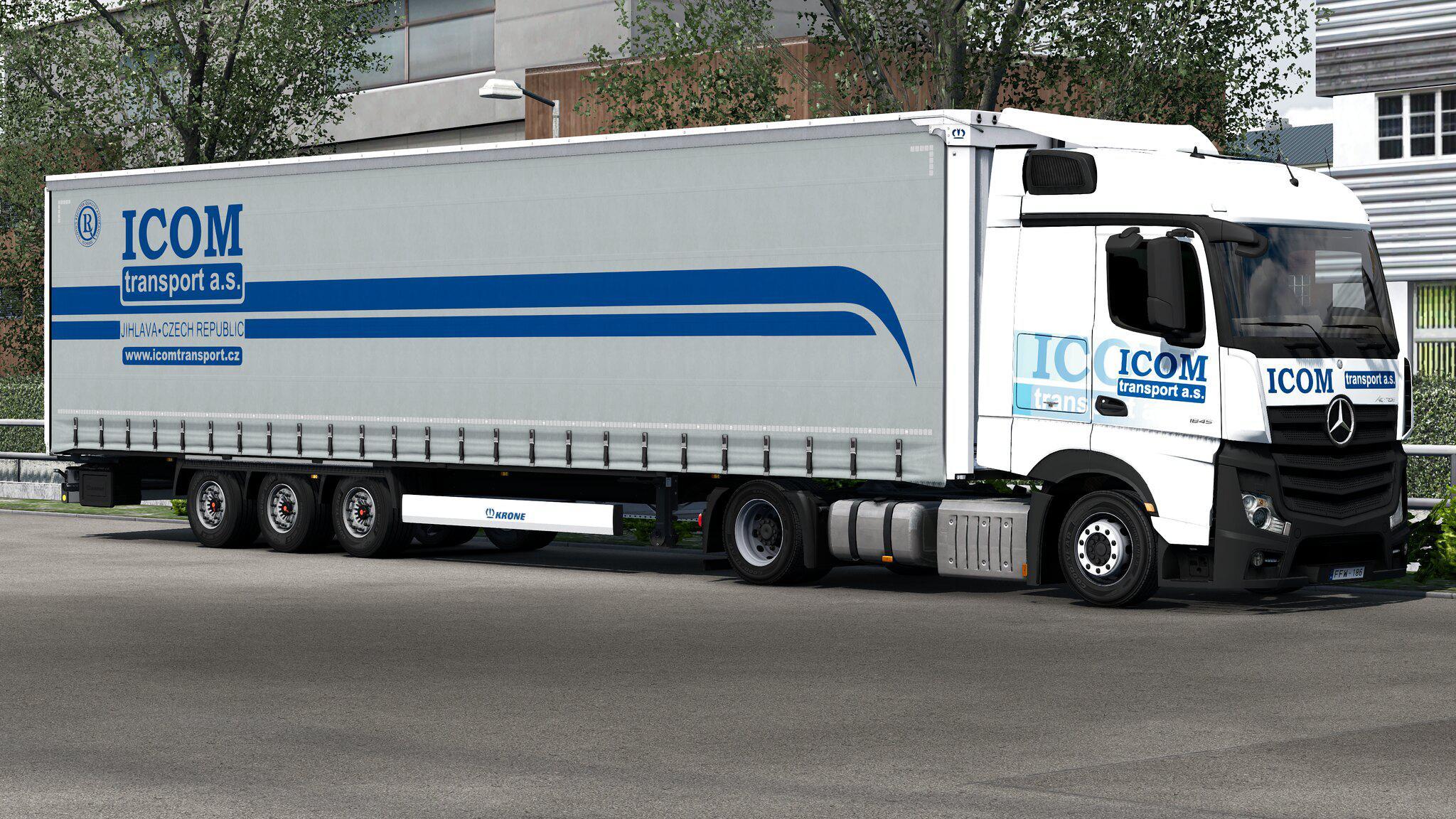 ETS2 - Krone Megaliner Skinpack V2.3 (1.36.x)