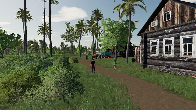FS19 - Wild island Life Map V3.0