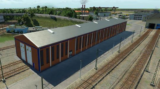 Transport Fever 2 - Modernes Depot