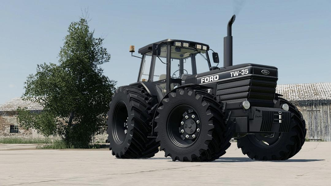 FS19 - Ford TW 35 Black Edition V1.0