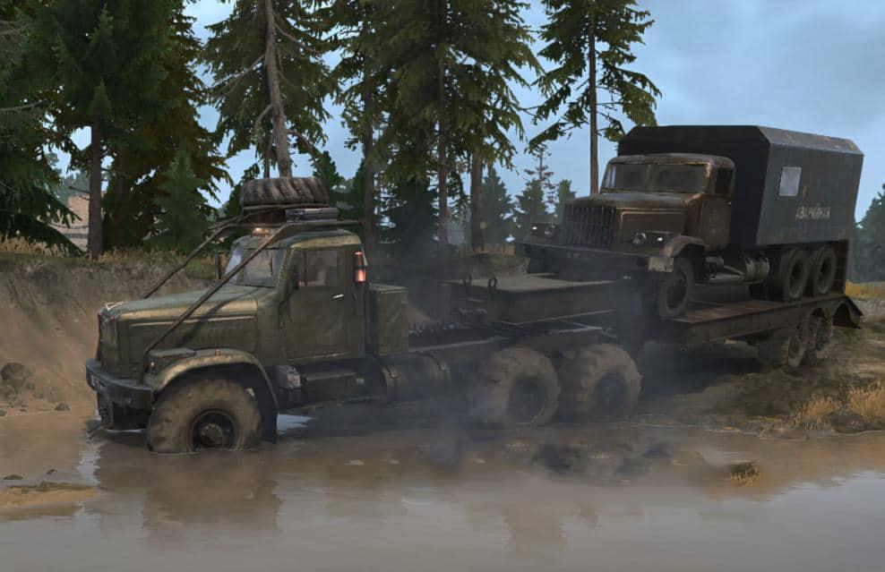 Spintires:Mudrunner - KrAZ-255 Truck V2.1
