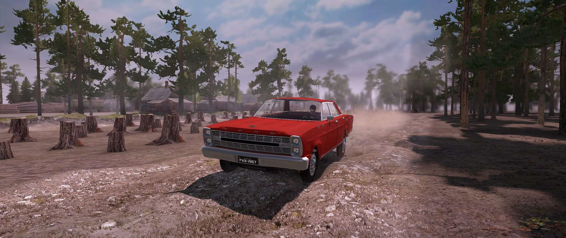 Spintires:Mudrunner - Ford Galaxy 500 1967 Mod