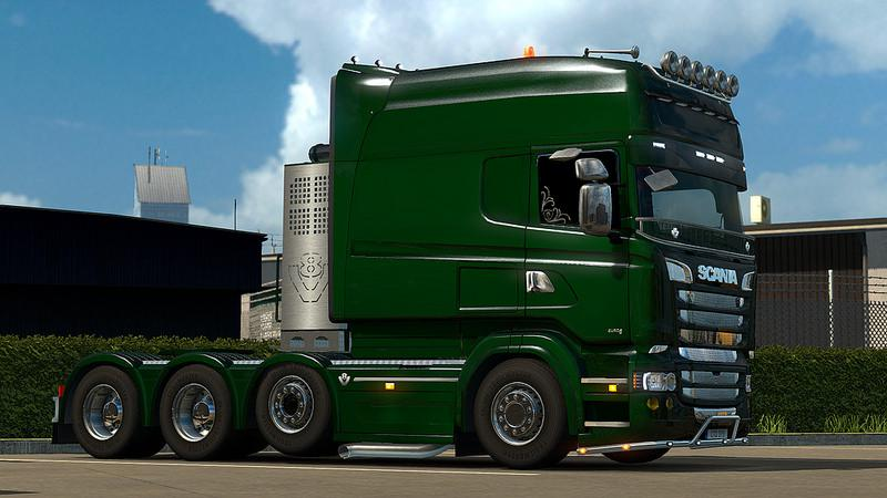 ETS2 - RJL Scania RS Fix Mod (1.38.x)