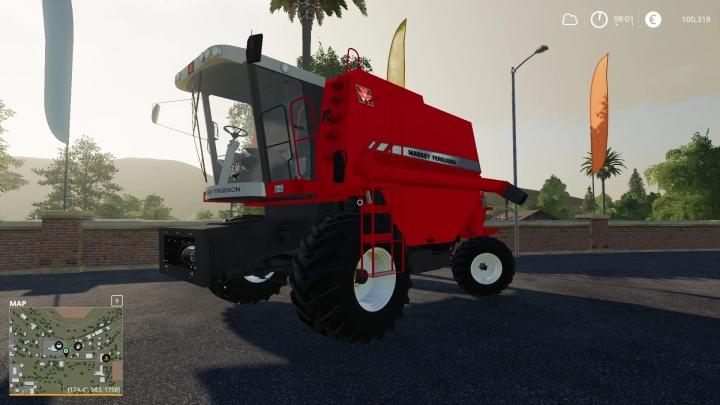 FS19 - Massey Ferguson 32 Zuada Beta