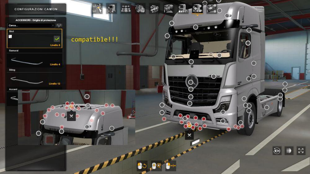 ETS2 - Slot Pack for MP5 (1.38.x)