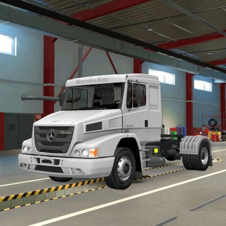 ETS2 - Mercedes-Benz Pack V1.41