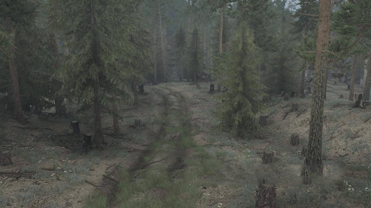 Spintires:Mudrunner - Dont Rock The Log Truck Map V10.22.19