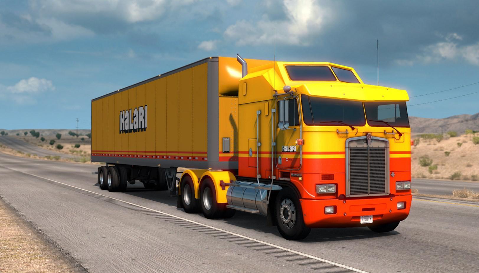 ATS - Kalari Transport Paintjob Pack V1.0 (1.36.x)