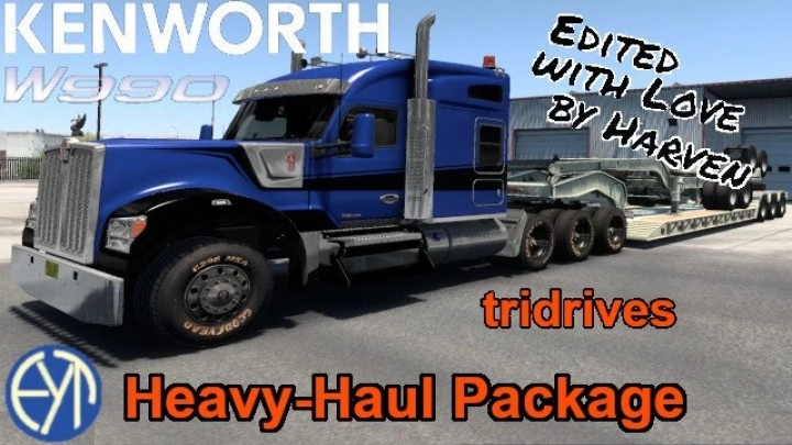 ATS - Kenworth W990 8x Chassis (1.41.x)