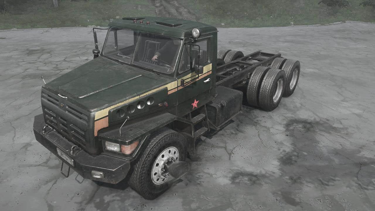 Spintires:Mudrunner - Voron D53233 Truck V30.06.20