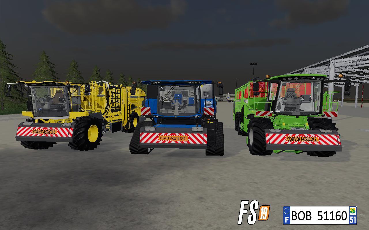 FS19 - Plaque Frontal V1
