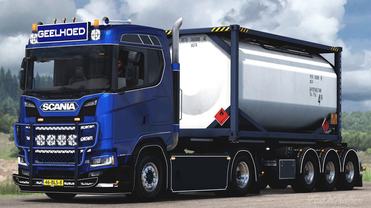 ETS2 - Scania Truck Premium (1.40.x)