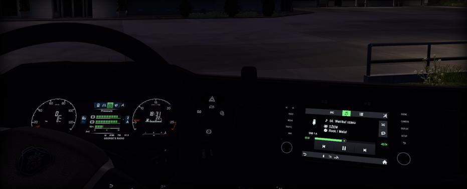 ETS2 - Scania Next Gen Radio (1.35.x)