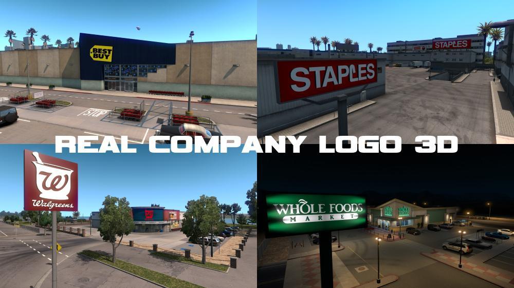 ATS - Real Company Logo 3D V1.7 (1.38.x)