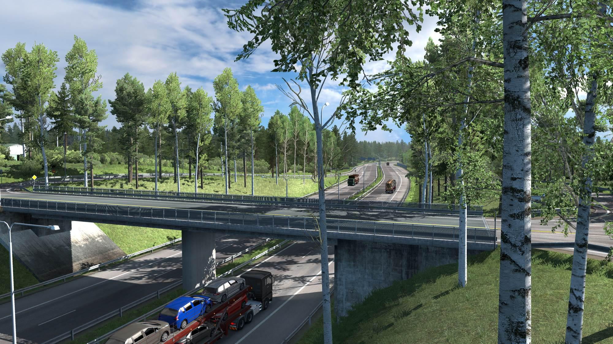 ETS2 - Addons for NaturaLux (1.35.X)