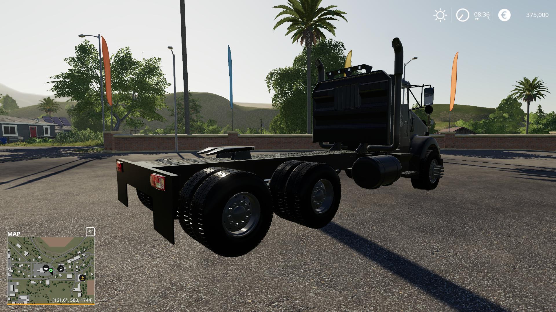 FS19 - Kenworth T800 Hauler Truck Mod V1.0