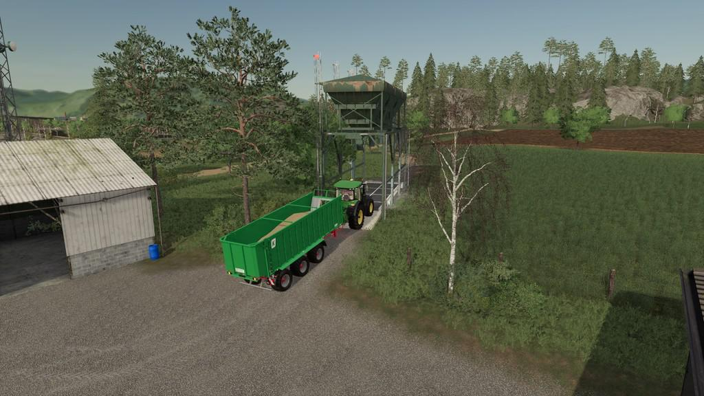 FS19 - Placeable Steel Silo V1.0