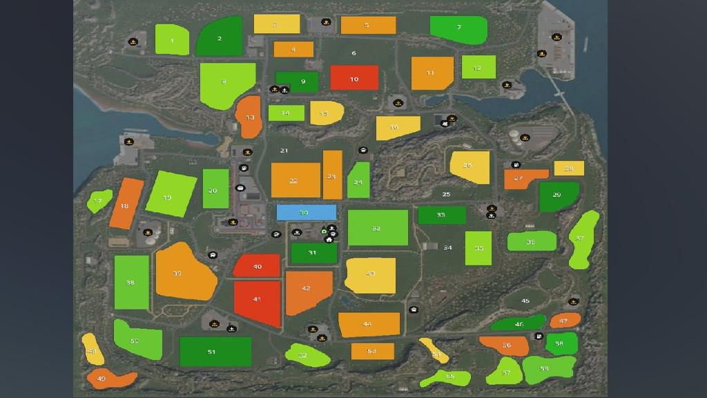 FS19 - The Old Farm Countryside Map V2.1