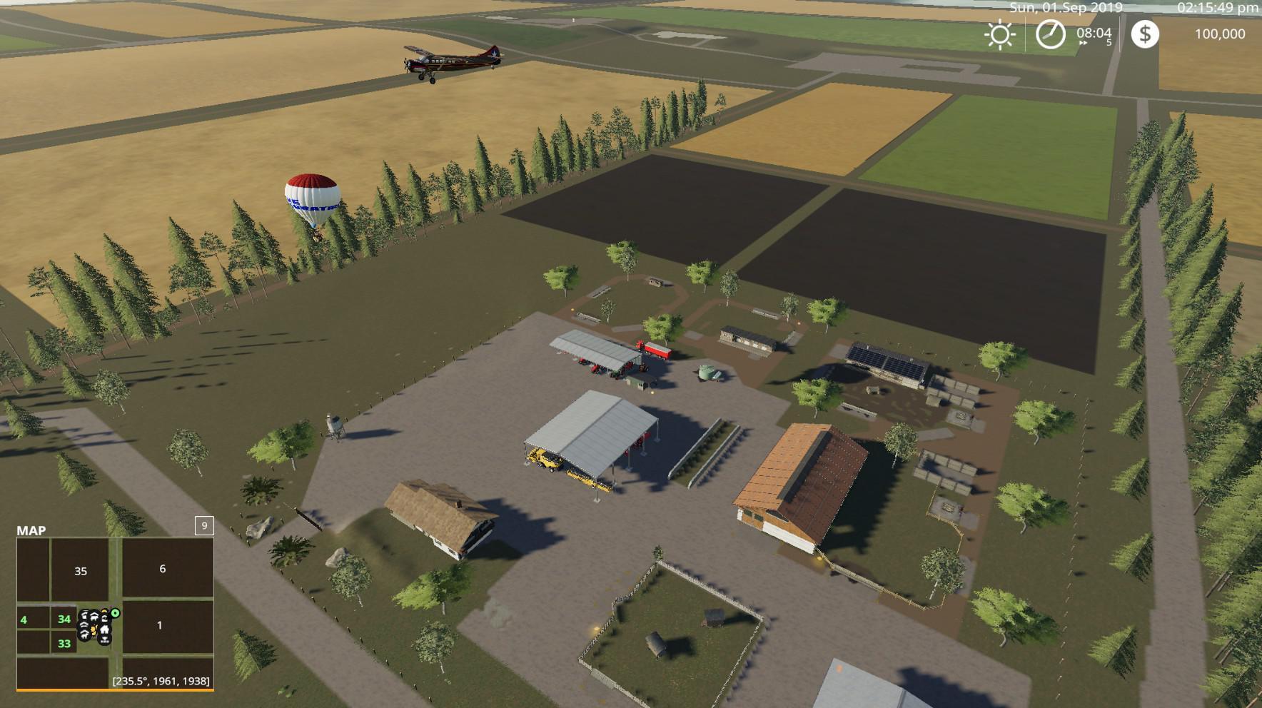 FS19 - Kiwi Farm Starter Map 4X Update V3A